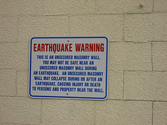 earthquakesign