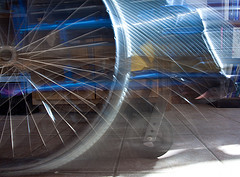 How do you get around: car, train, bicycle, plane, feet? Make a photo that represents your mode of transportation today.